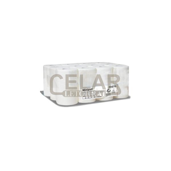 Ručník CELTEX LUX papírový role 2-vrstvy bílý (12ks)