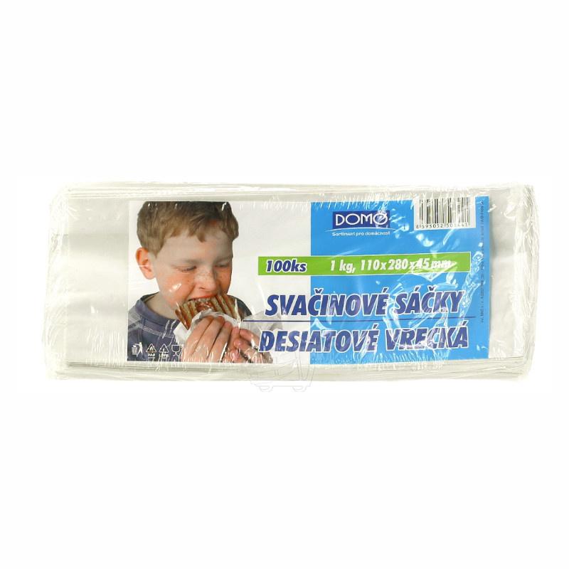 Sáček papírový svačinový 110x280mm 1kg (100ks)