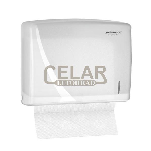 Zásobník PrimaSoft na skládané ručníky ZZ - bílý