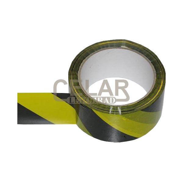 páska T PROTISMĚRNÁ žlutá/černá samolepící, šíře 50mm