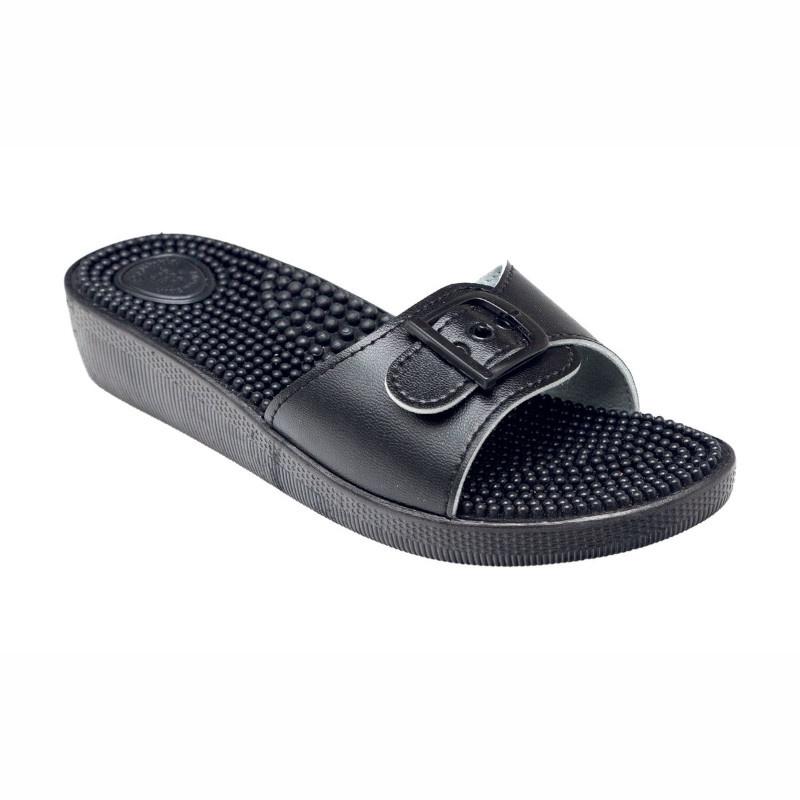 SANTÉ SI/03C Pantofle dámské - ČERNÁ