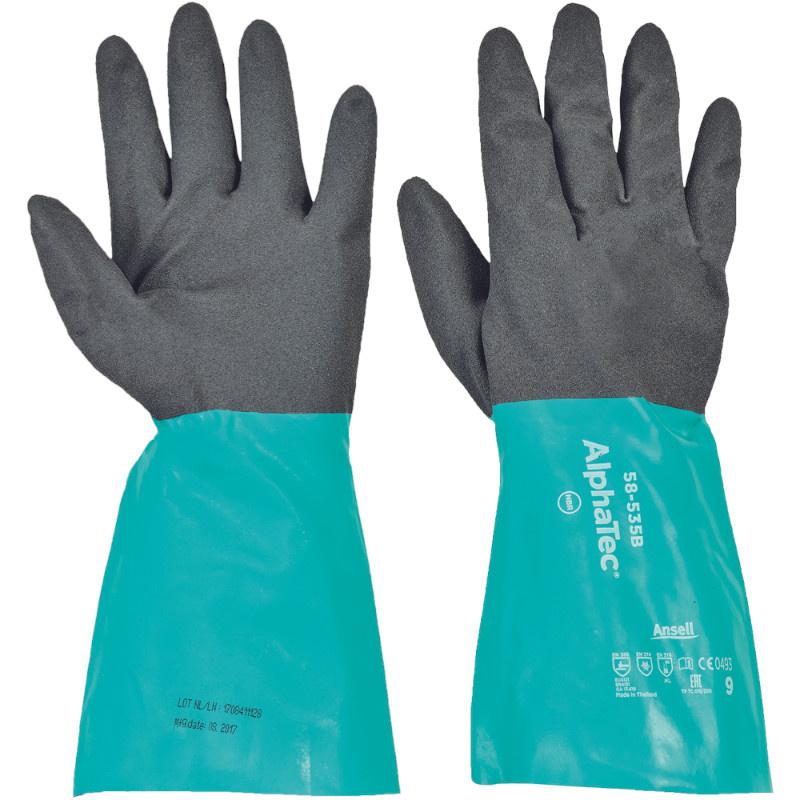 ALPHATEC TM 58-535 rukavice chemicky odolné 356mm