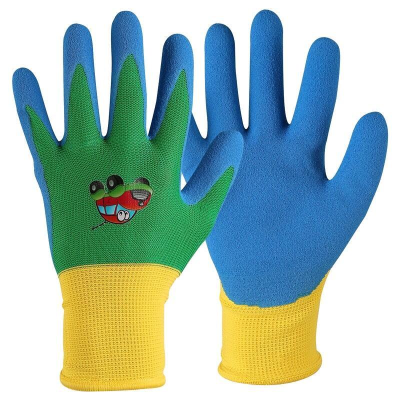 DRAGO rukavice dětské máčené v nitrilu