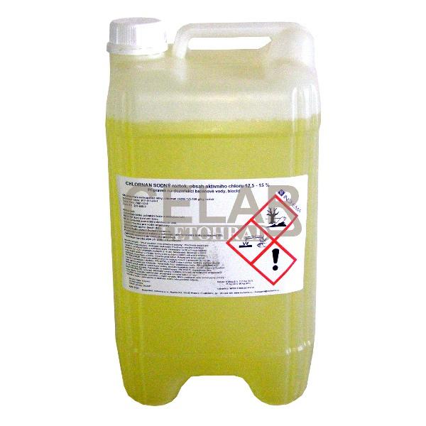 Chlornan sodný 10L - tek.prostředek pro dezinfekci bazénu
