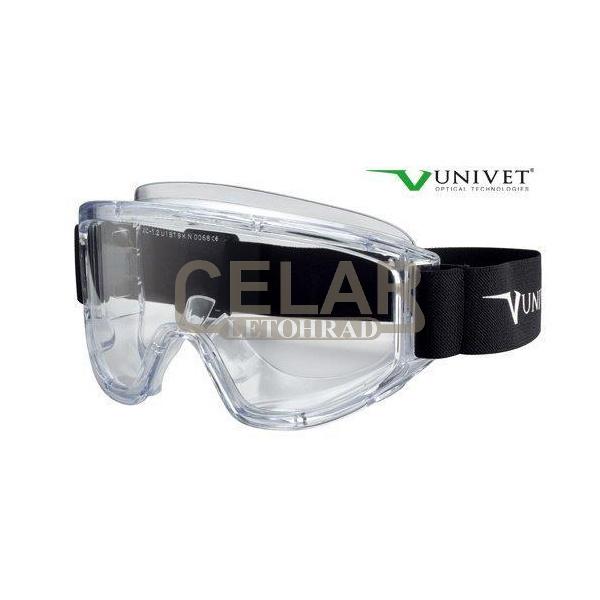 Brýle UNIVET 5X7 AS AF UV400 čiré