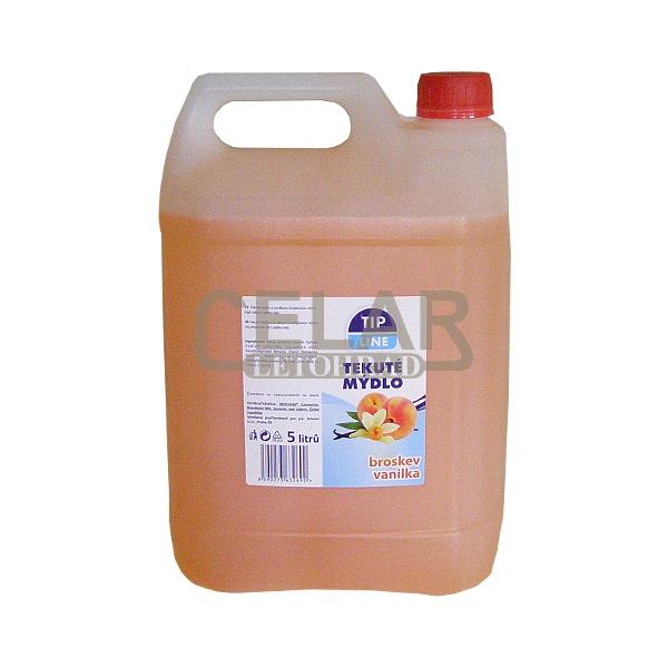 TIP LINE BROSKEV VANILKA tekuté mýdlo 5L