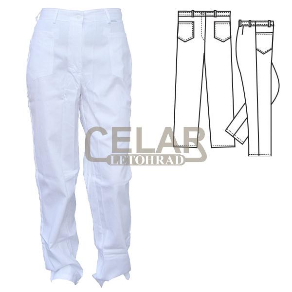 (2406) ANETA kalhoty dámské pásek