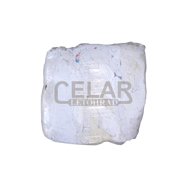 Textilie 10kg BÍLÉ lisované, čisticí hadry, savý materiál
