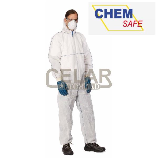 CHEMSAFE MS1 Ochranná kombinéza s kapucí