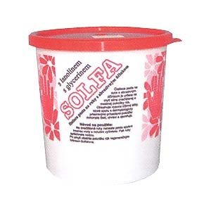 SOLFA 450g - mycí pasta na ruce s lanolínem a glycerínem