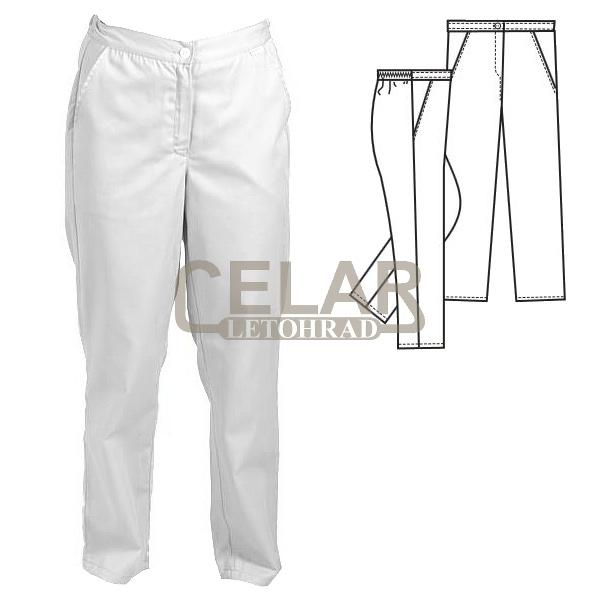 (2407.0100)  LEONA 100%BA kalhoty D