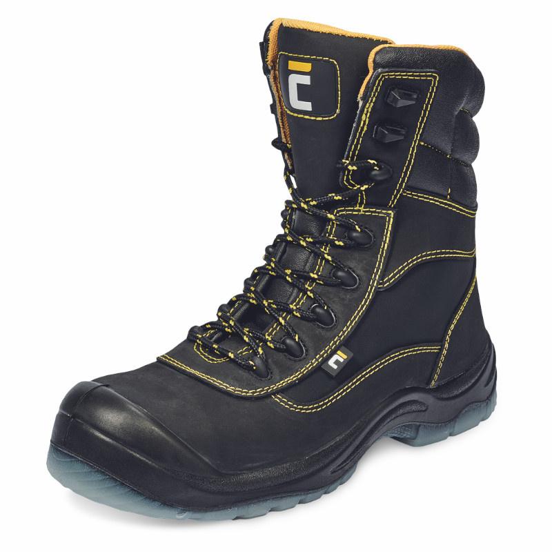BK TPU MF S3 SRC poloholeňová obuv