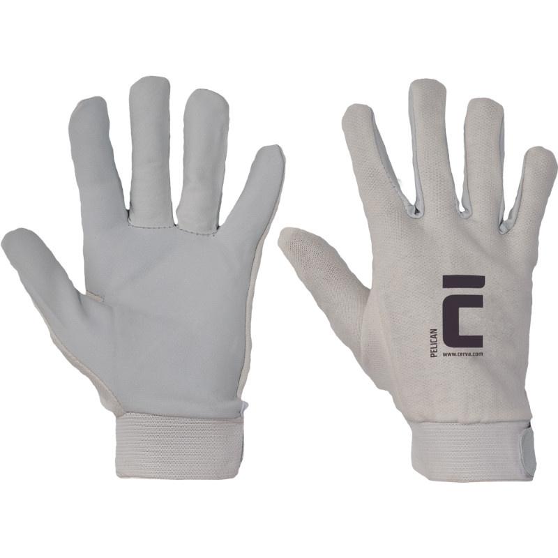 PELICAN  rukavice kombin.suchý zip