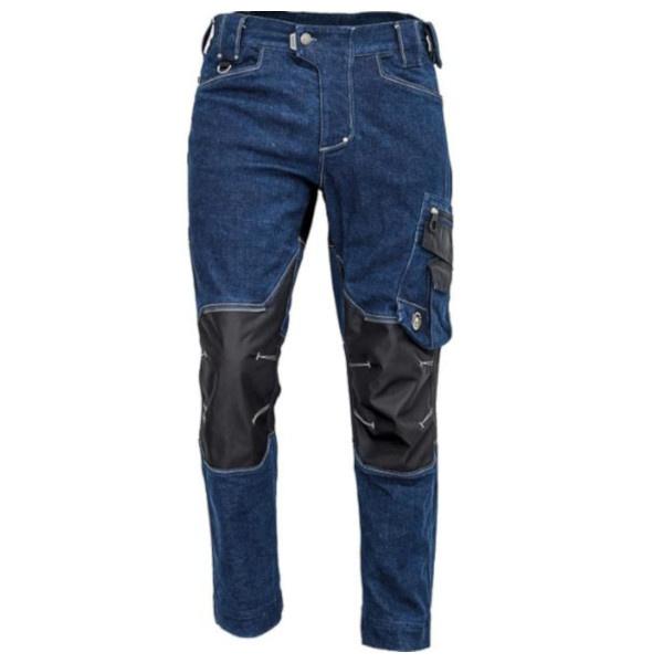 NEURUM DENIM kalhoty do pasu jeansová