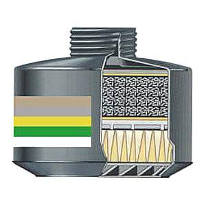 Filtr kombinovaný CF 32 A2B2E2K2- P3