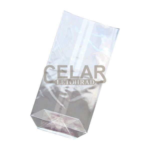 Celofánový sáček 100x170mm 30mi křížové dno (100ks)