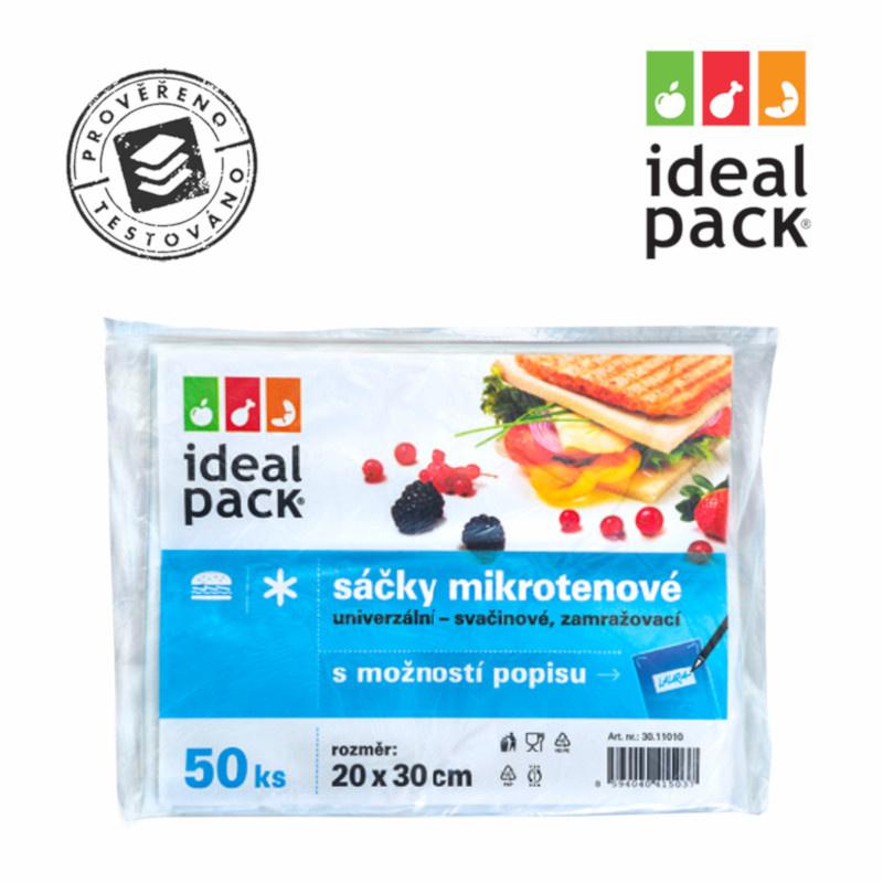 MI sáček POPISOVACÍ ideal pack® 20x30cm (50ks)
