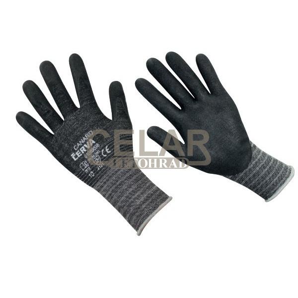 CANARD rukavice máčené nylon/nitril
