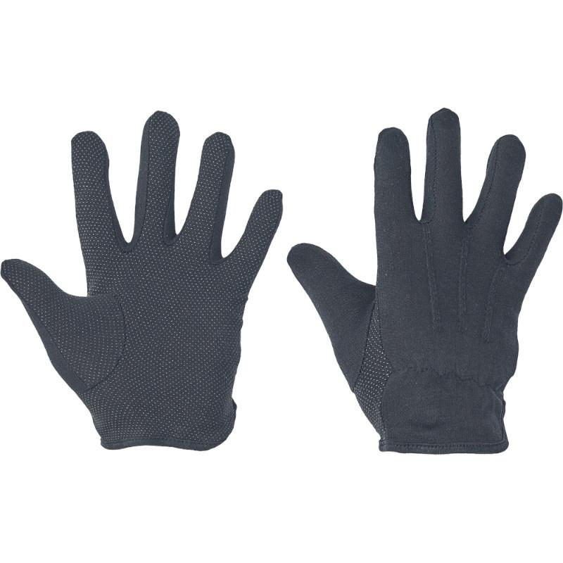 BUSTARD BLACK ruk.ba dlaň a prsty PVC terčíky