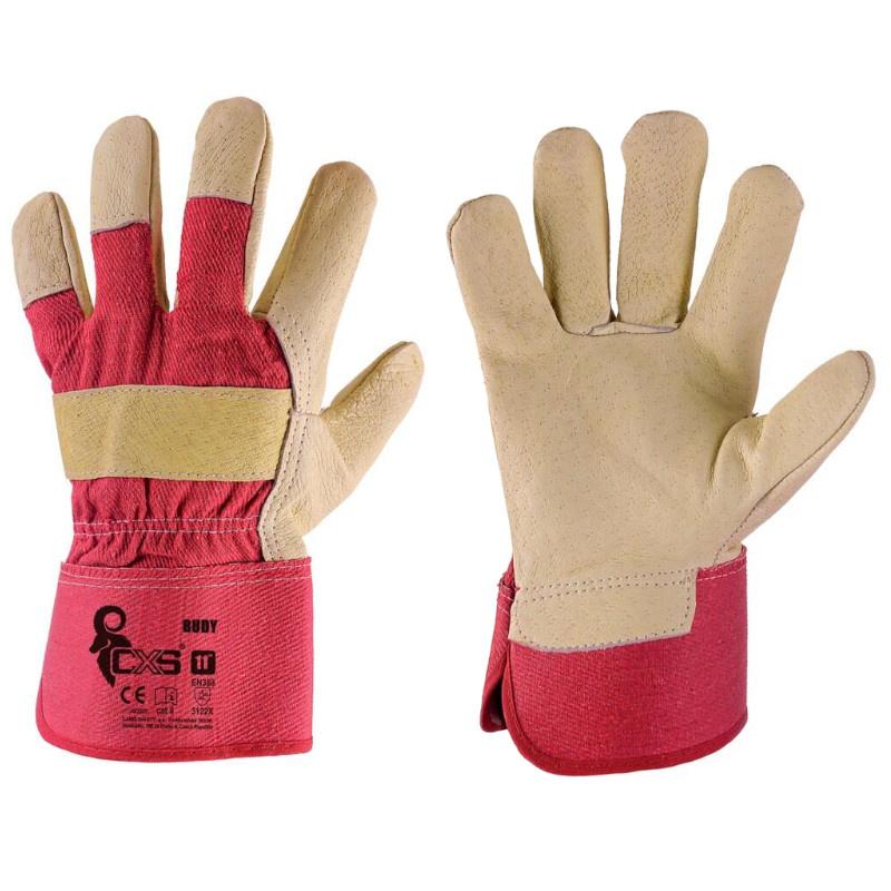 BUDY rukavice z vepř. lícovky - 11