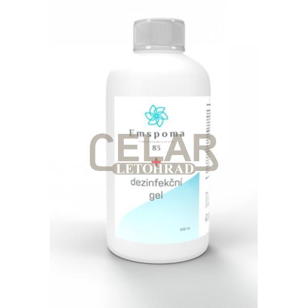 EMSPOMA 500ml gel dezinfekční