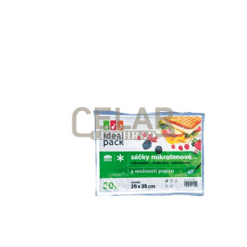 MI sáček POPISOVACÍ ideal pack® 25x35cm (50ks)