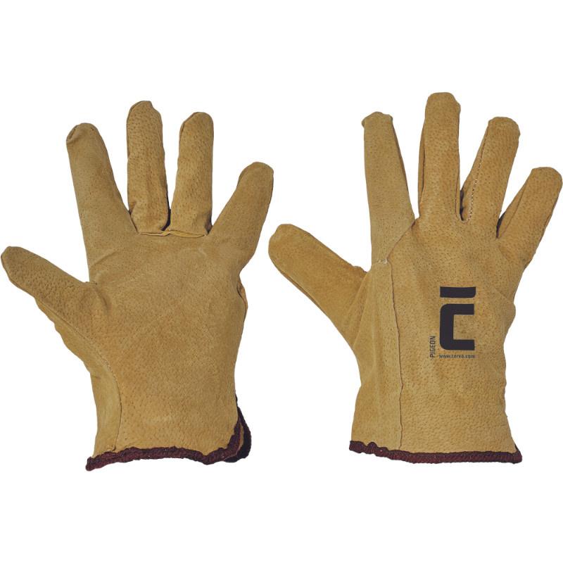 PIGEON rukavice celokožené