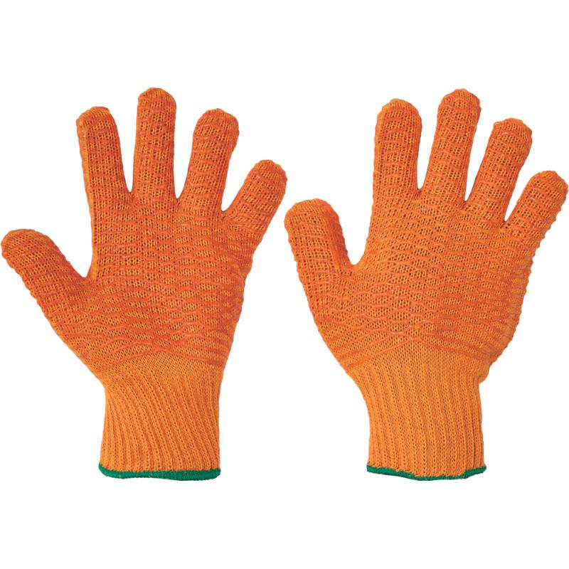 FALCON rukavice nylon/polyester mřížka - 10