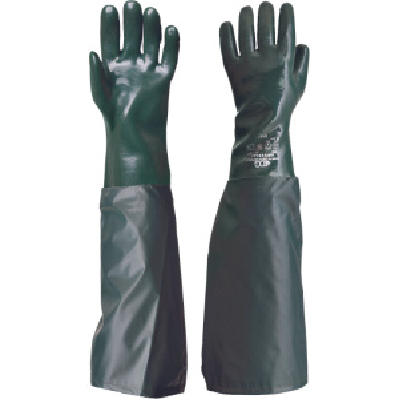 UNIVERSAL 65cm rukavice PVC odolné kyselinám - 10