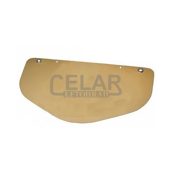 náhradní štít se zlatou reflexní úpravou (k 52100)