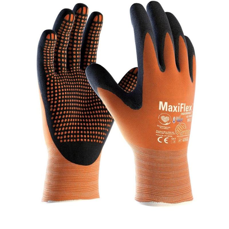 MAXIFLEX Endurance 42-848 rukavice nitril výstupky