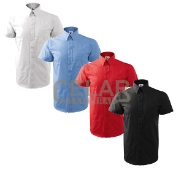 Košile 207 pánská SHIRT SHORT SLEEVE
