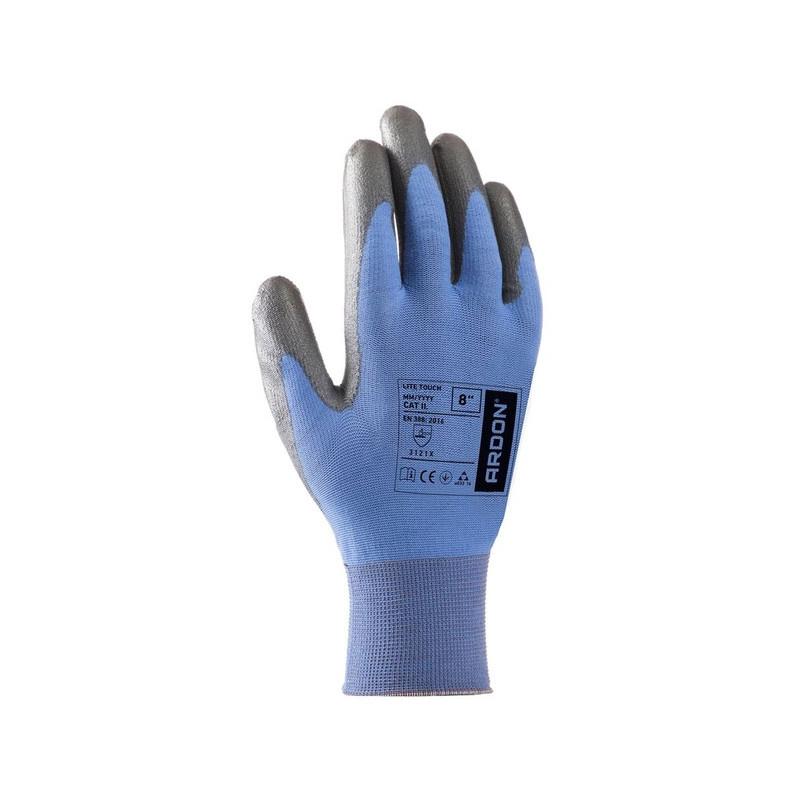 LITE TOUCH rukavice ultra tenký úplet