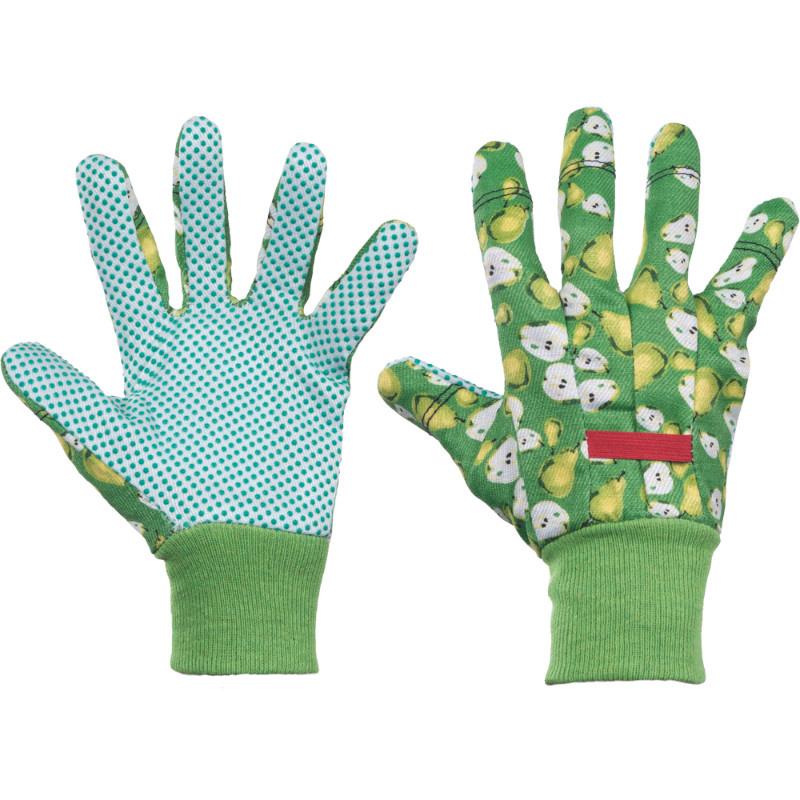 FAST FRUIT KIXX rukavice ba PVC terčíky - zelená - 8
