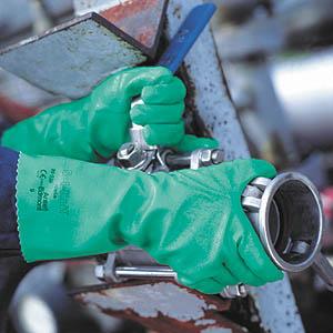 Sol-Knit A39-122 rukavice šitý Ba úplet+nitril