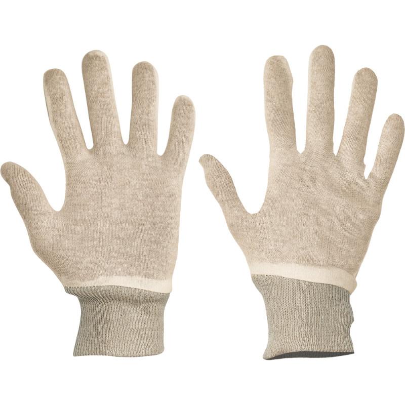 TIT rukavice průžný bavlněný úplet - 10
