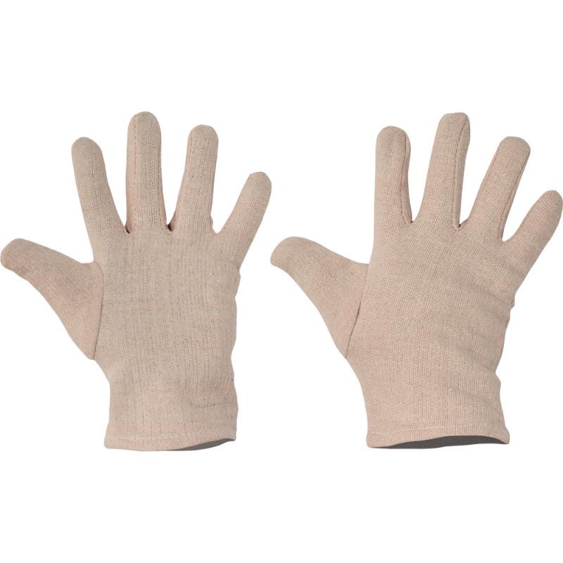 PIPIT rukavice textilní česaný bavl.úplet 23cm