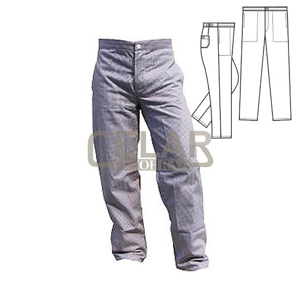 (0462) PEPITO kalhoty řeznické pánské