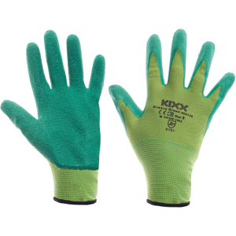 GROOVY GREEN KIXX rukavice nylon/latex