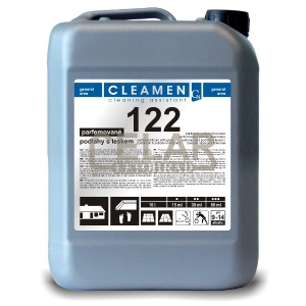 CLEAMEN 122 5L prostředek na podlahy s leskem parfém