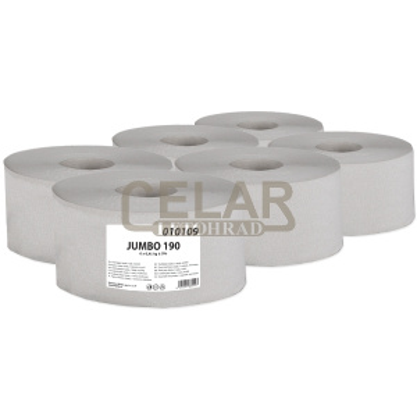 JUMBO 190mm toaletní papír (6ks)