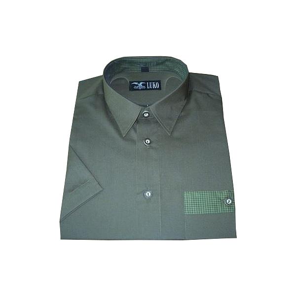Košile 50% bavlny a 50% polyester