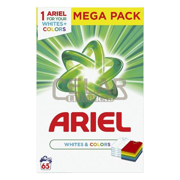 ARIEL 4,875kg / 65 PD BOX WHITE & COLOR prací prášek