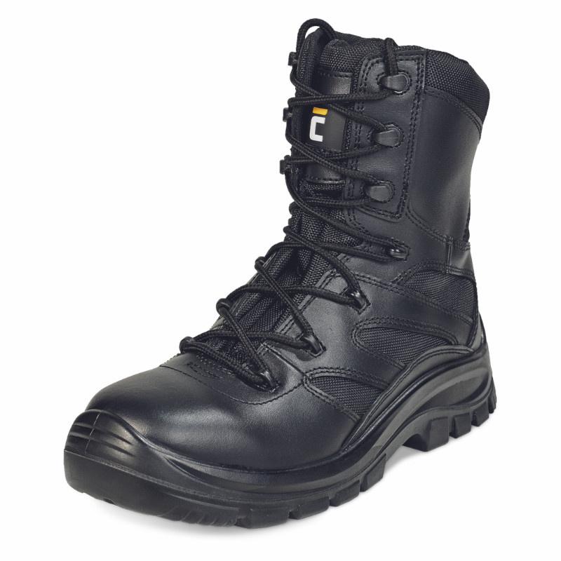 BLACK KNIGHT BOOT O2 obuv holeňová