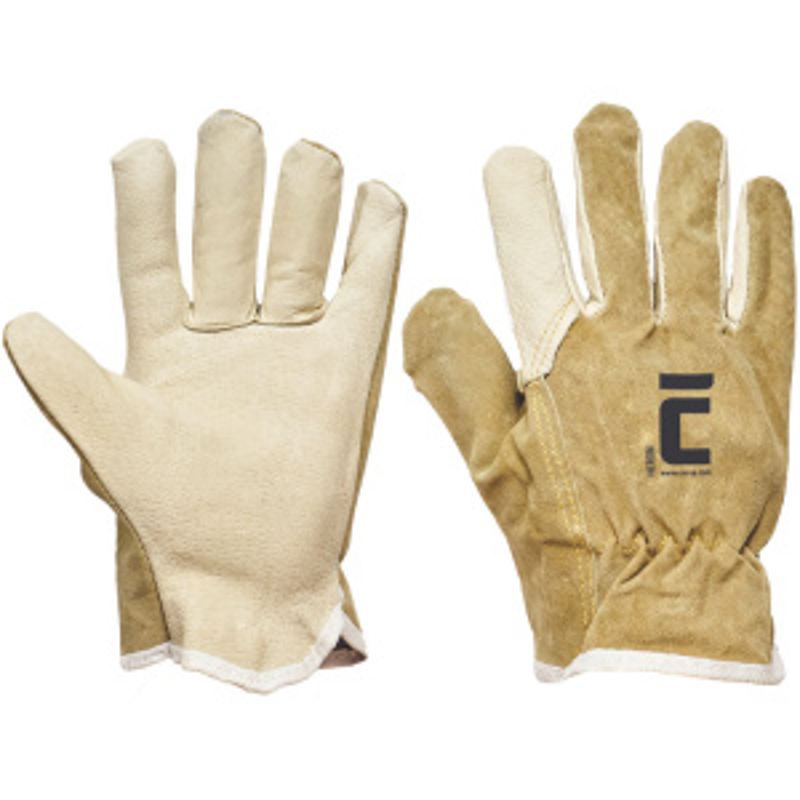 HERON rukavice celokožené