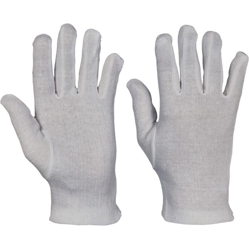 KITE rukavice bavlněného běleného úpletu