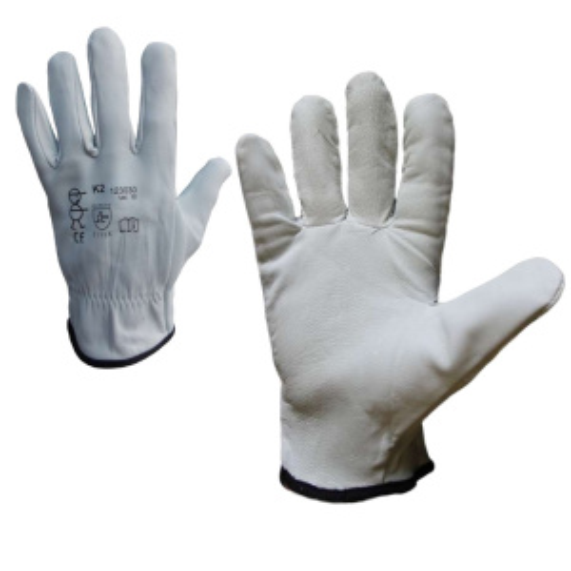 K2 rukavice celokožené jemné lícové