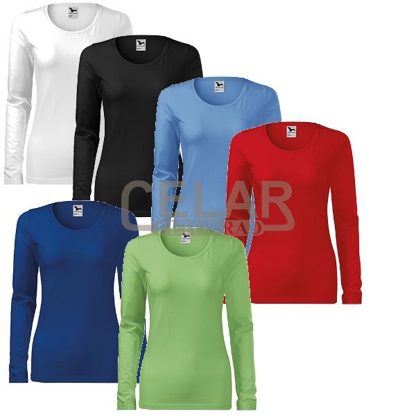 tričko 139 SLIM dámské dlouhý rukáv
