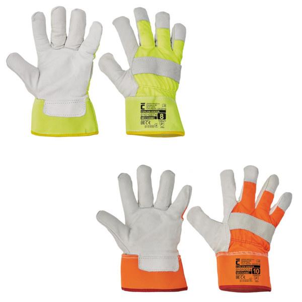CURLEW WINTER rukavice reflexní HV zimní