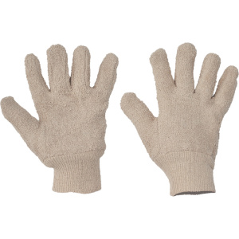 DUNLIN rukavice uzlíčková bavlna - 10